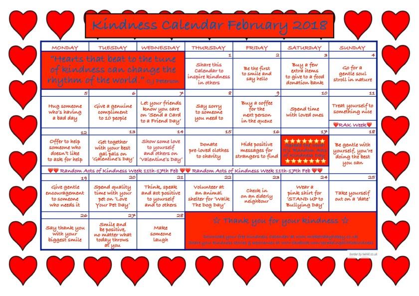 Kindness Calendar February 2018 .jpg