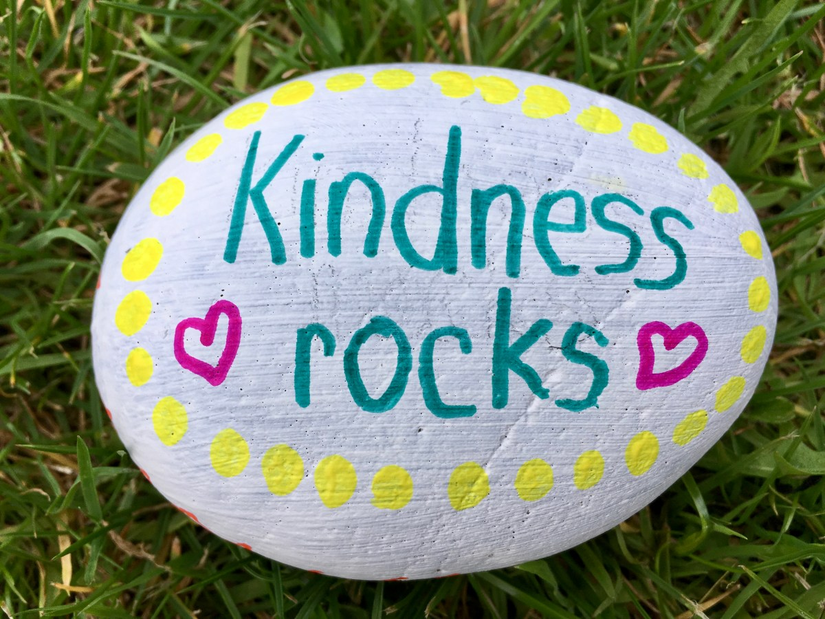 Act of kindness #37: Kindness Rocks