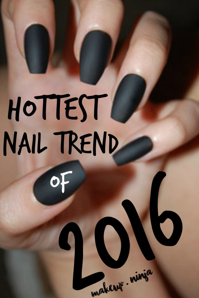 hottest nail trend of 2016 - coffin nails