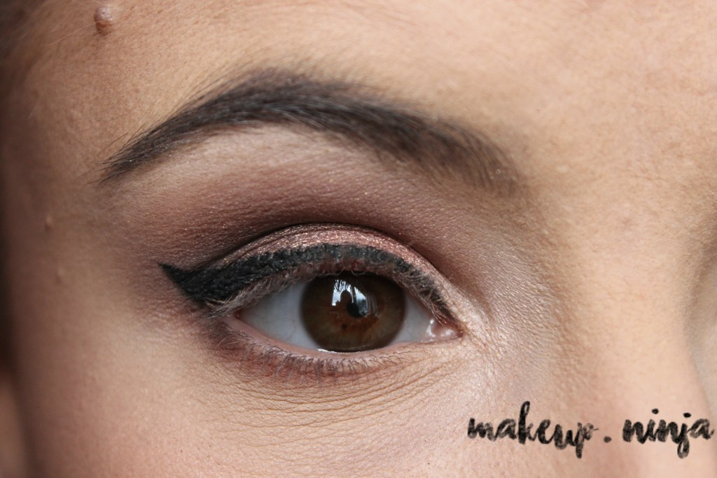 Neutral Smokey Eye Look with Orange Eyeshadow - Step 10