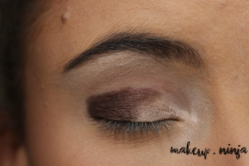 Neutral Smokey Eye Look with Orange Eyeshadow - Step 4