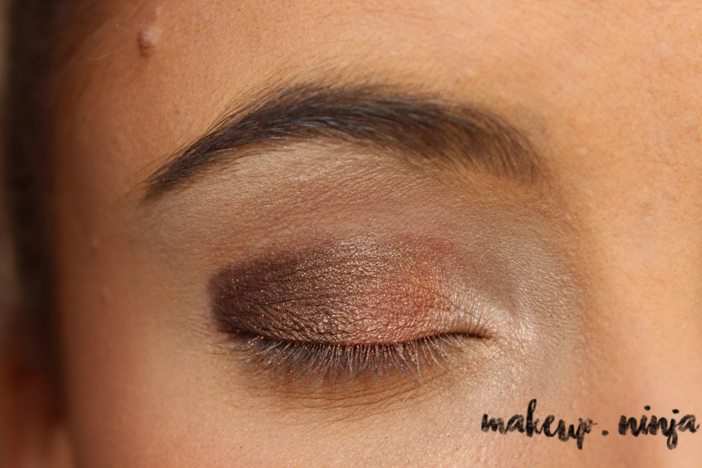 Neutral Smokey Eye Look with Orange Eyeshadow - Step 5
