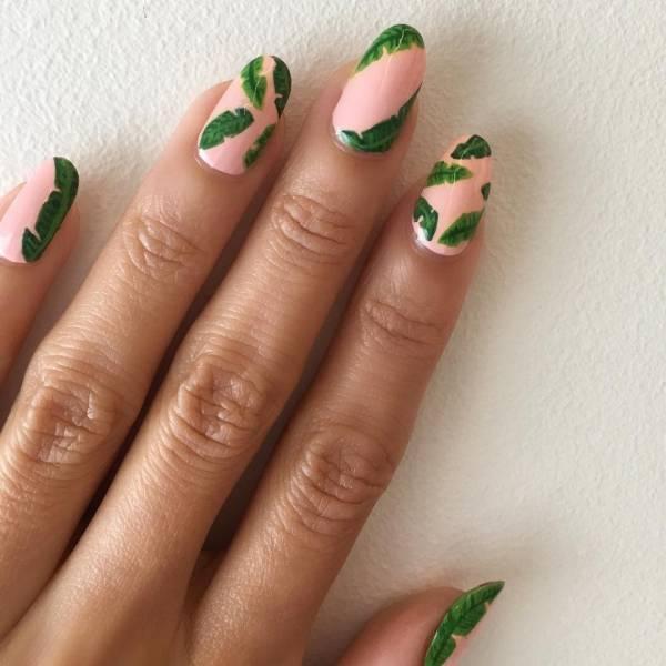 легкий дизайн ногтей для начинающих 1