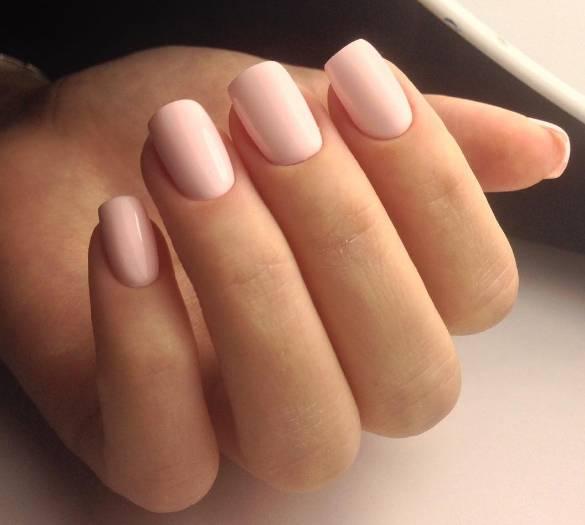 нежные ногти дизайн 1
