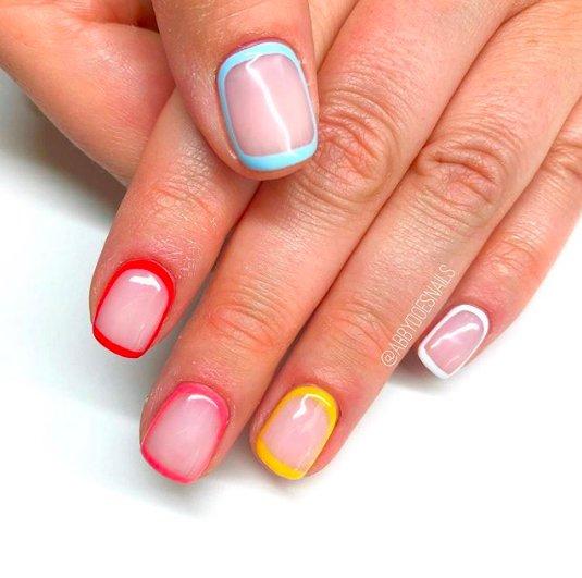 обводка ногтевой пластины