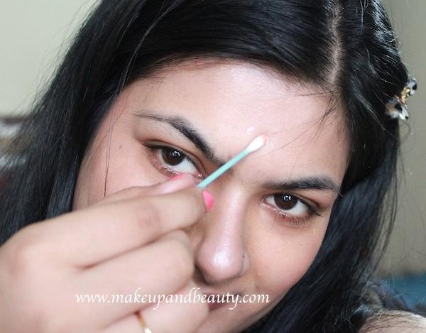 highlight forehead