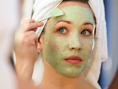máscara facial beleza