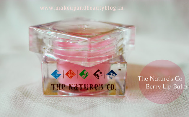The Nature's Co. Berry Lip Balm Review