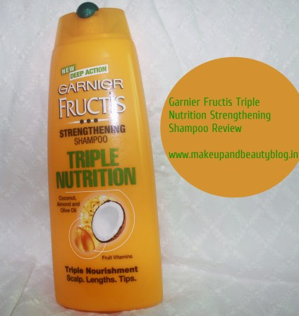 Garnier Fructis Triple Nutrition Strengthening Shampoo Conditioner Review