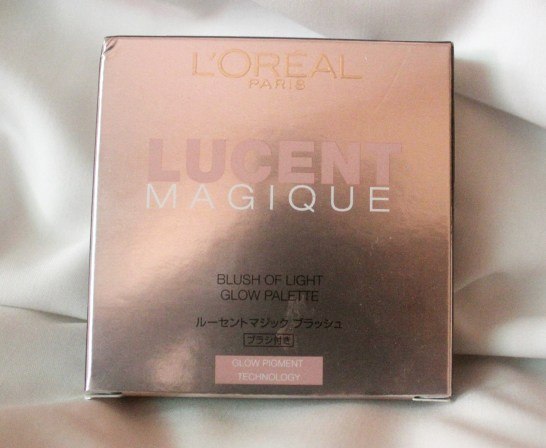 L'Oreal Paris Lucent Magique Blush Of Light Glow Palette Sunset Glow – 04: Review, Swatch