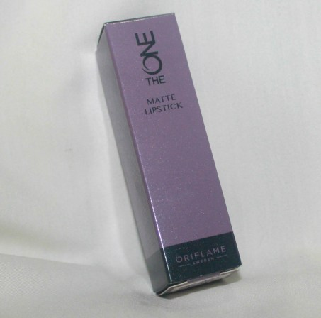 Oriflame THE ONE Matte Lipstick-Nutty Plum: Review and LOTD