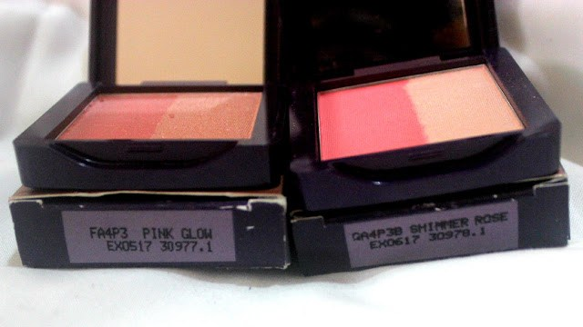Oriflame The ONE Illuskin Blush Review & Swatches: Pink Glow & Shimmer Rose