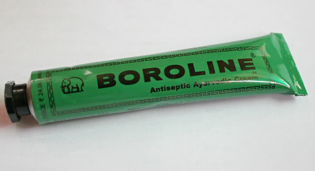 Boroline Antiseptic Ayurvedic Cream: Review and Swatch