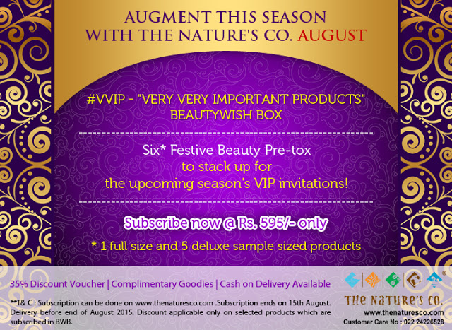 The Nature's Co. UPDATES: Next BeautyWish Box Theme Revealed & Relaunch of TNC's Sandalwood Range