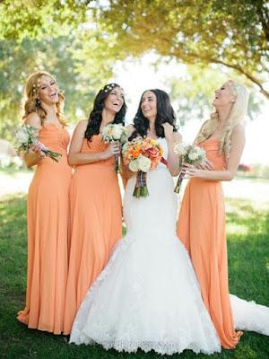 Popular 9 Colour Pallates For Bridesmaid Dresses