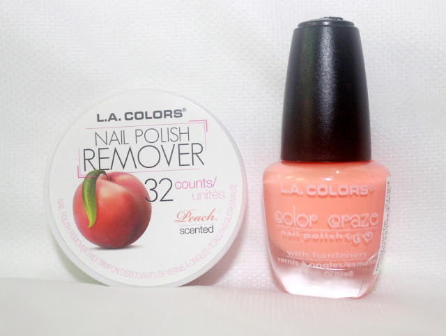Nail Paint & Remover Haul- FT. SHOP MISS A  Summer Salmon
