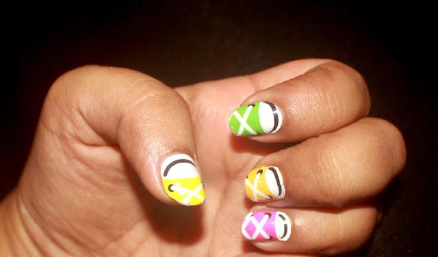 Sporty Nail Art OMG Nail Strips