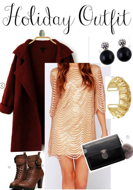 Holiday Outfit for this Christmas or New Year: SHEIN