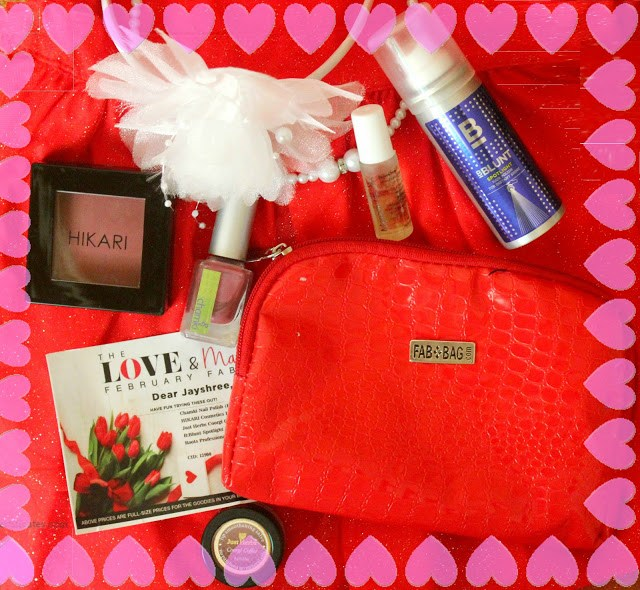 Fab Bag Febuary 2016 Review: The Love & Makeup