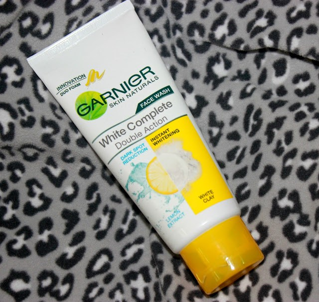Garnier White Complete Double Action Face Wash Review