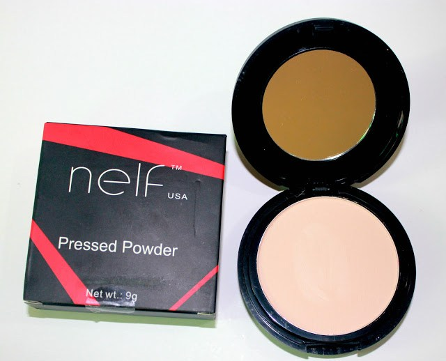 NELF USA Pressed Powder-Natural Matte: Review, Swatch and FOTD