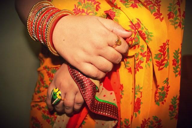 Floral Summer Saree- OOTD Ft Triveni Ethnics