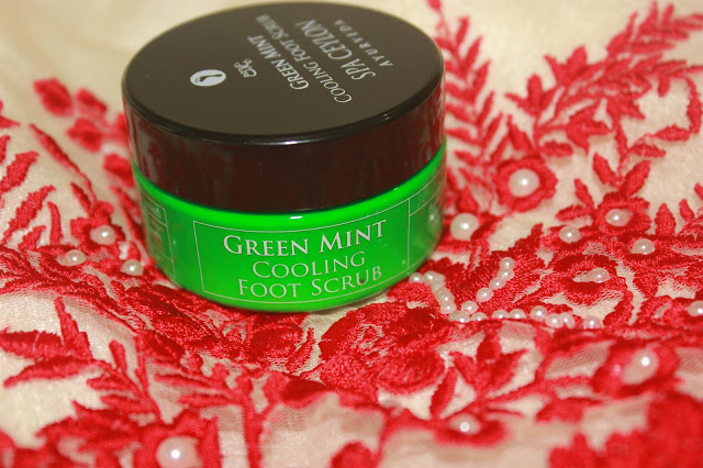 Spa Ceylon Ayurveda Green Mint Cooling Foot Scrub Review