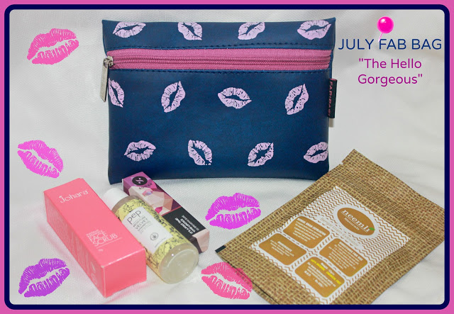 Fab Bag July 2016- The Hello Gorgeous Review