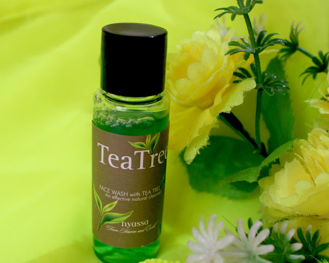 Nyassa Tea Tree Oil Face Wash Review