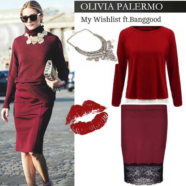 My Wishlist Olivia Palermo Style: Banggood