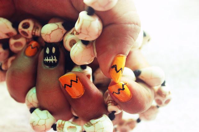 DIY Spooky Halloween Nail Art