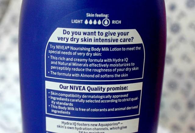 Nivea Nourishing Lotion Body Milk Almond Oil Review