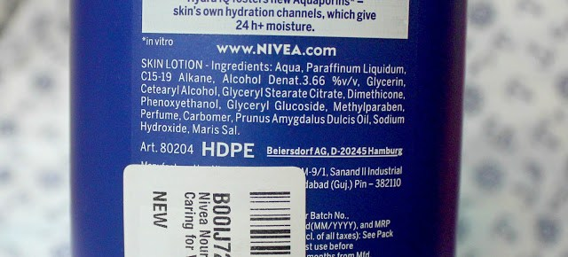 Nivea Nourishing Lotion Body Milk Almond Oil Review