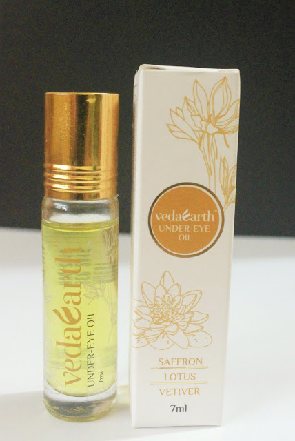 VEDAEARTH UNDER EYE OIL: QUICK REVIEW