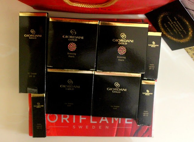 EVENT: RELAUNCH OF GIORDANI GOLD RANGE BY ORIFLAME