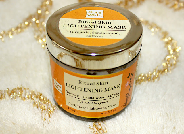 Aura Vedic Ritual Skin Lightening Mask with Sandal Saffron Review