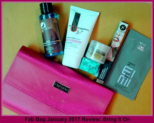 Fab Bag January 2017 Review Bring It On