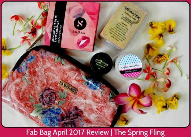 Fab Bag April 2017 Review | The Spring Fling