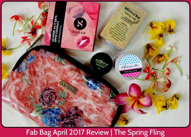 Fab Bag April 2017 Review | The Spring Fling