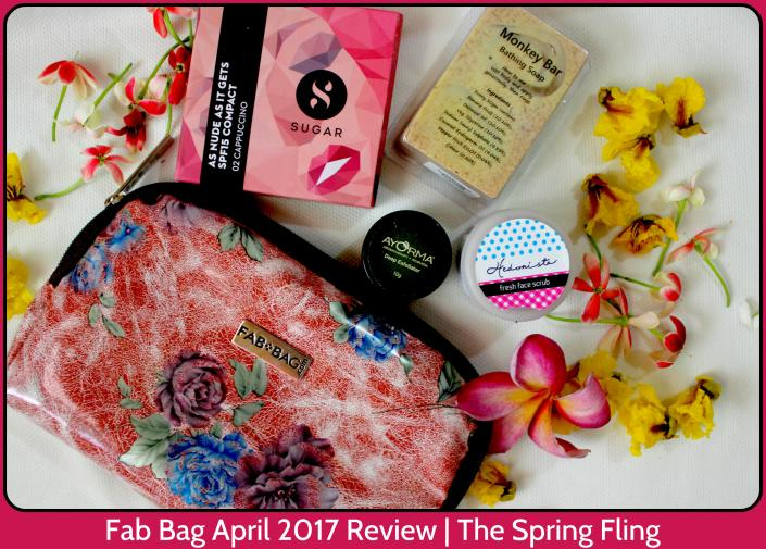Fab Bag April 2017 Review The Spring Fling