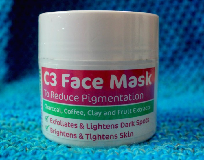 Mamaearth C3- Charcoal, Coffee & Clay Face Mask to Reduce Pigmentation & Skin Lightning Review