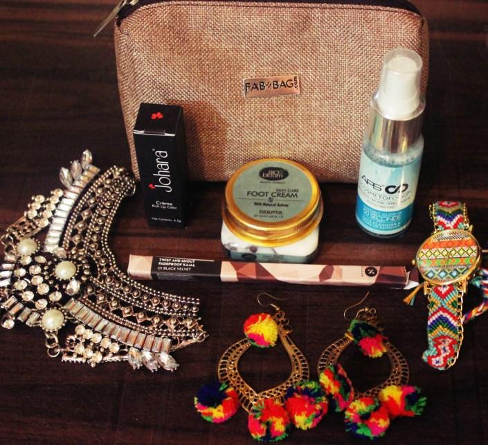 Fab Bag June 2017 Review | The Boho Chic