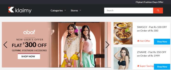 Klaimy Best Deals, Discounts & Coupon Codes: Website Review