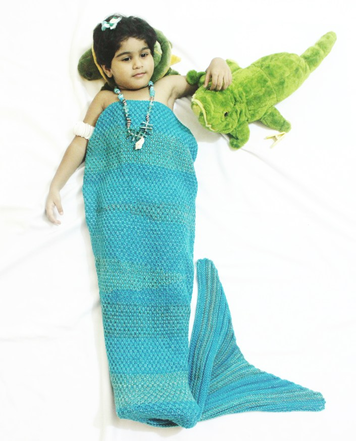Mermaid Tail Blanket Baby OOTD Ft. Zaful