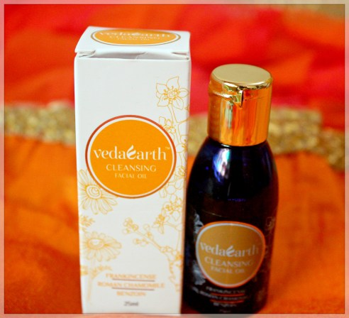 VedaEarth Cleansing Facial Oil Review