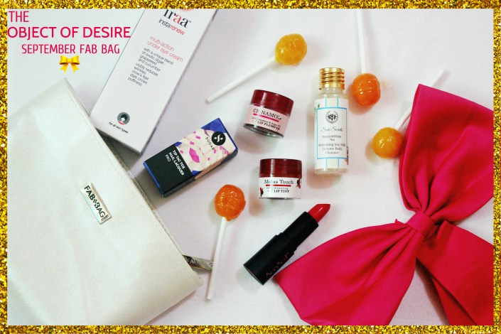 Fab Bag September 2017 Review | The Object Of Desire