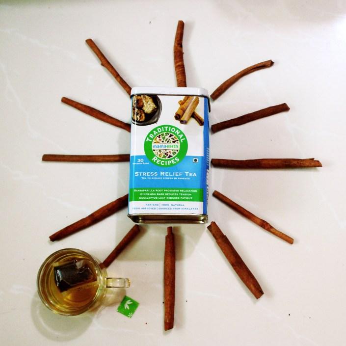 MamaEarth Stress Relief Green Tea