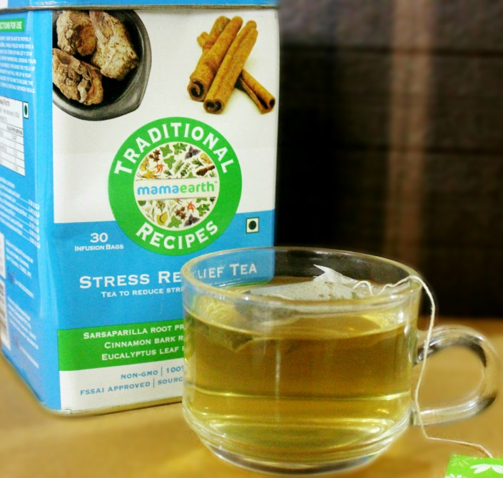 MamaEarth Stress Relief Green Tea