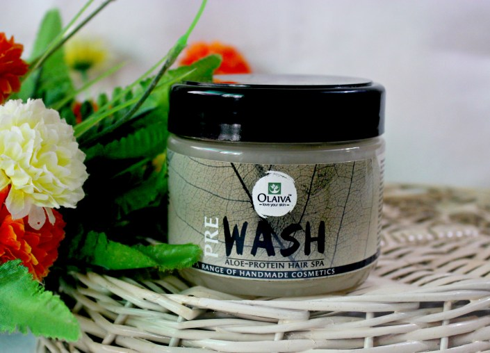 Olaiva Pre Wash Aloe-Protein Hair Growth Treatment Spa