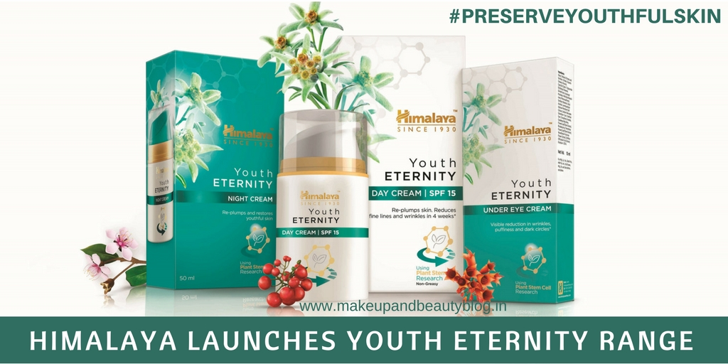 Event: Himalaya Launches Youth Eternity Range #PreserveYouthfulSkin